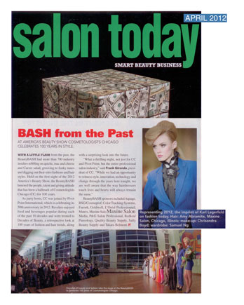 Amy Abramite of Maxine Salon featured in Modern Salon March 2012