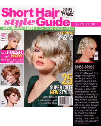 Celebrity Hairstyles Short Hair Style Guide December 2015 - Maxine ...