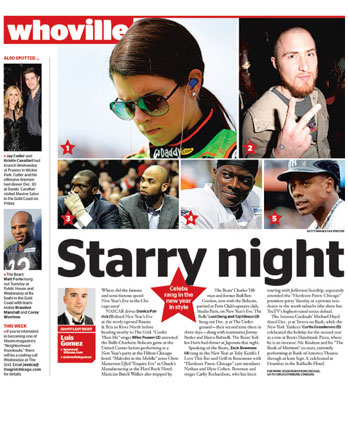 Maxine Salon featured in Chicago Red Eye January 6th 2013