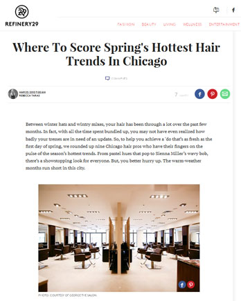 Maxine Salon featured in Refinery29 March 23, 2015