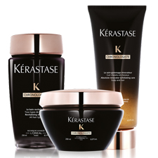 Kérastase Chronologiste Hair Care Revitalizes Hair & Scalp