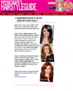 Sophisticate's Hairstyle Guide Blog October 19, 2012