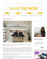 Make the Most Blog November 4, 2014