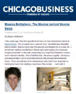 Chicago Business November 24, 2010