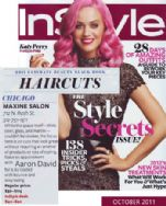 InStyle Magazine October 2011